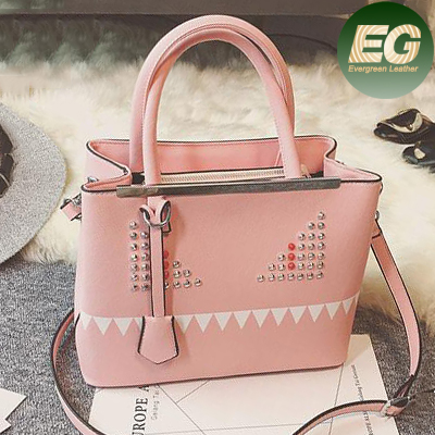 2017 fashion studded handbag wholesale cheap tote bags made in guangzhou SY7908