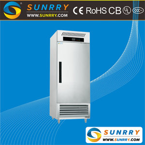 Commercial high quality stainless steel kitchen refrigeration equipment individual GN pan refrigerated cabinet