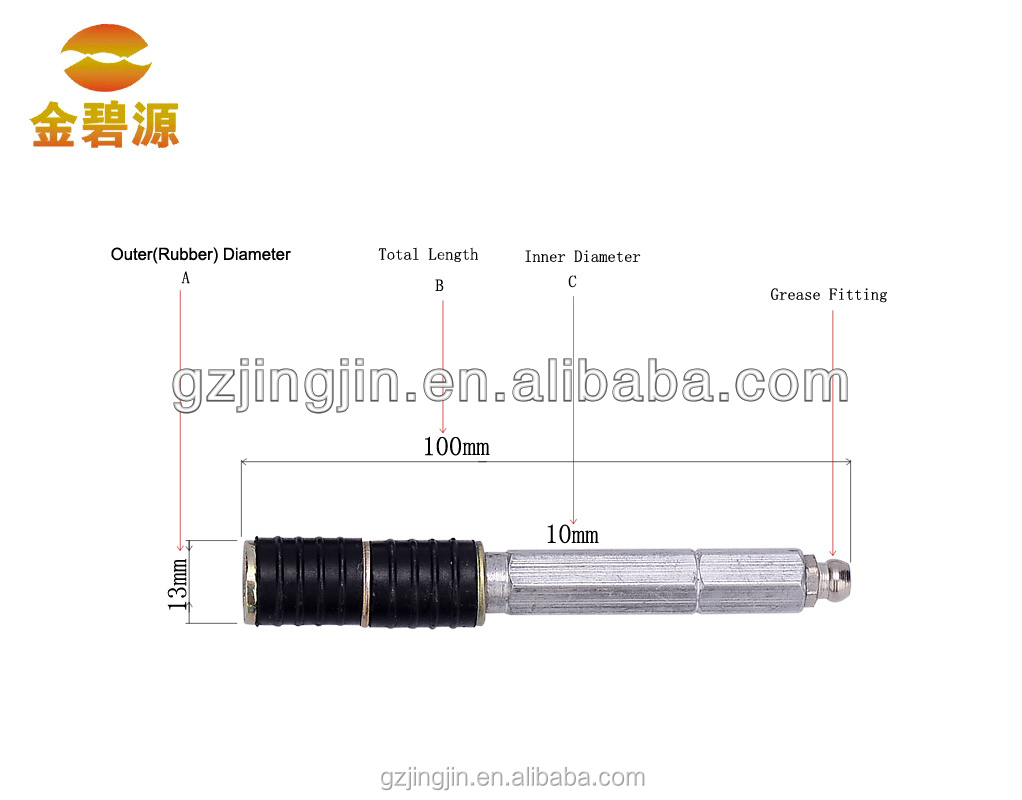 Concrete Crack Repair Injection Packers 13mm*100mm