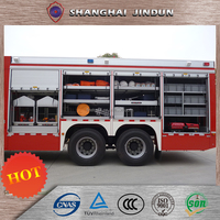 China Supplier 4X4 Amphibious Fire Fighting Vehicle