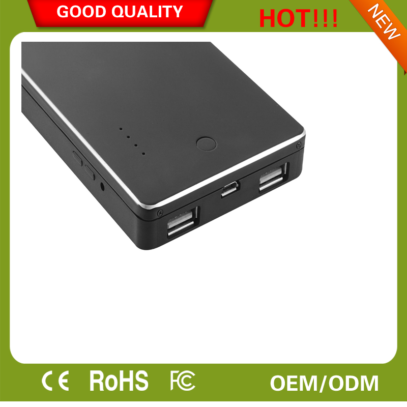 2017 Hot Full HD 1080p H2 Powerbank Hidden Cam, Spy Powersupply NT Programm OVV 9712 Camera Sensor With 6000 mAh Battery
