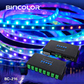 BC-216 16 channels Madrix software artnet to SPI led controller ws2812b strip pixel controller