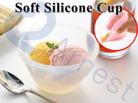 kitchenware silicone utensils soup ice cream transparent products tools gifts children food containers dessert cups 75903 75904