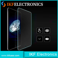 High quality factory price custom made anti-fingerprint color tempered glass screen protector for IPAD 4