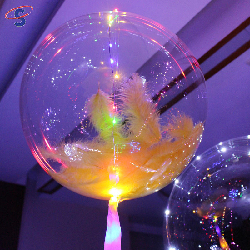 Super September Purchasing Festival 36inch Transparent PVC Round Clear Balloon For Wedding Party Decorations