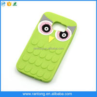 attractive style 3D cute owl animal tpu mobile phone case for iphone 6