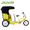 three wheel passenger electric hydraulic climbing trike rickshaw