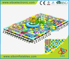 2016 SIBO high quality fashion indoor playground pvc foam pipe