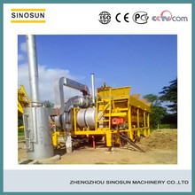 SLB8 small mobile asphalt mixing plant, twin-drum asphalt mixing machine manufacturer