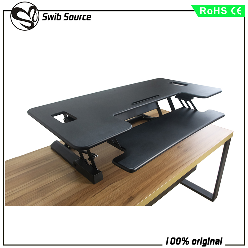 Drop the multi-function computer desk VM-LD02L Dual Monitor Capable