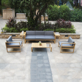 Factory best price top sale alu garden sets outdoor furniture