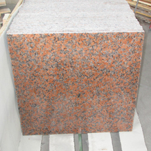 G562 Small Slabs Non-slip Red Paving Stones Granite Red