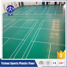 Portable athletic pvc basketball flooring in stock