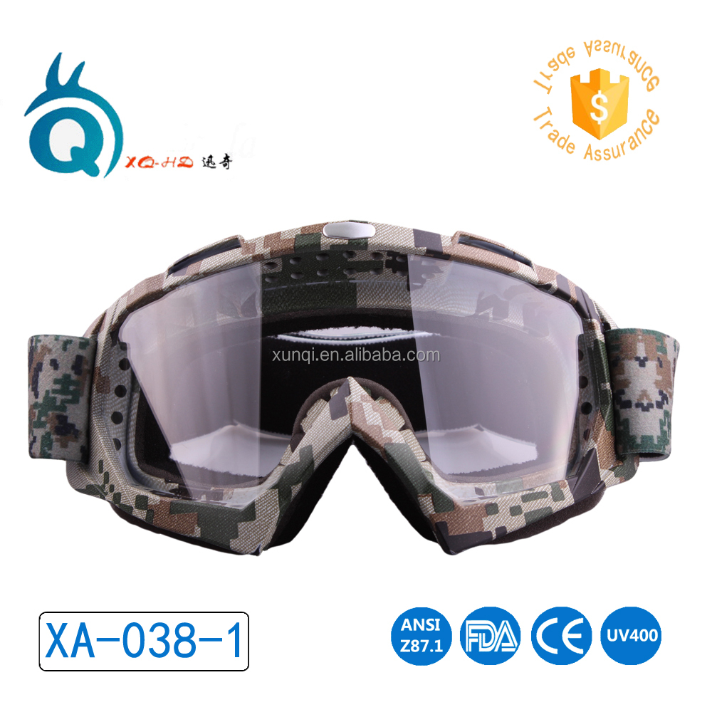 custom logo riding motorcycle skiing night vision goggle china Manufacturer motorcross goggles