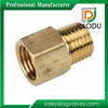super manufacturer competitive price customized forged npt 1/4 inch CuZn35Pb1 brass male threaded pipe coupling fittings