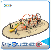 Interesting Physical trainning children outdoor playground, play facility,Climbing play for fun
