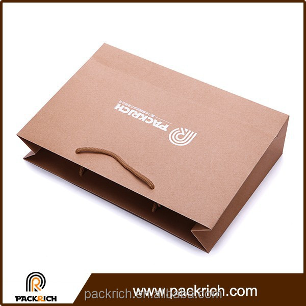 Made in china alibaba eco-friendly xiamen kraft shopping bags