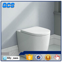 Sanitary ware concealed cistern back to wall ceramic toilet