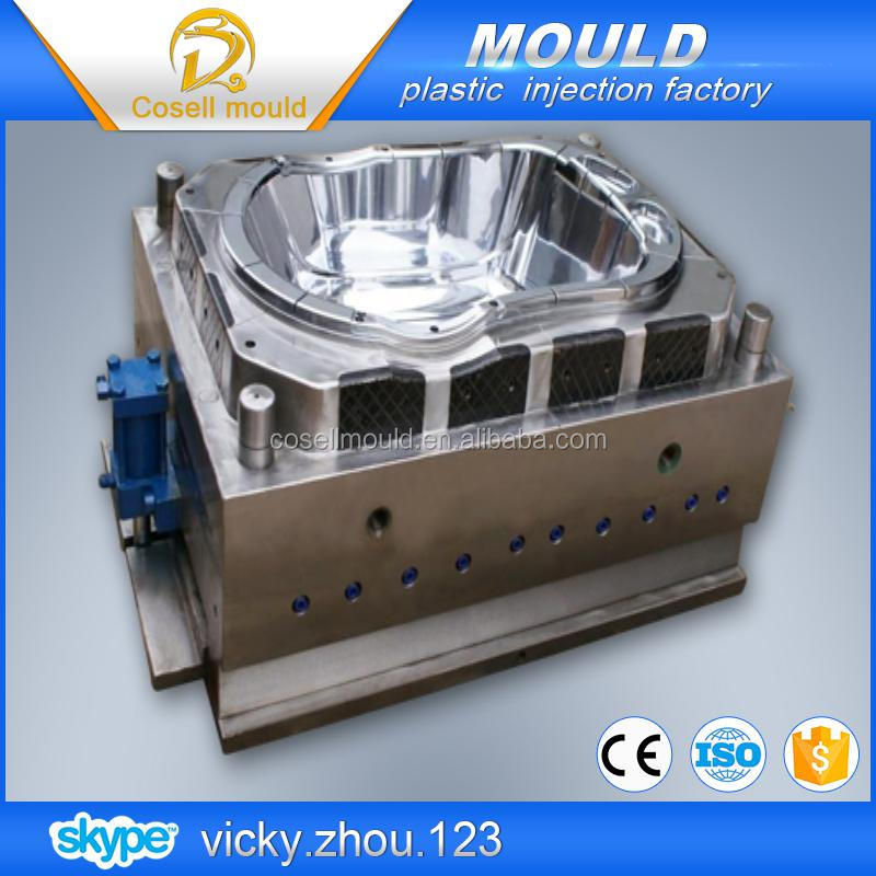 injection mold bath tub ,plastic commodity mould for bathtub