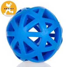 Tough By Nature Hol-ee Roller, Assorted TPR Pet Toy Ball Shape Dog Toy