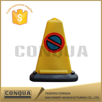 plastic textile of traffic cones