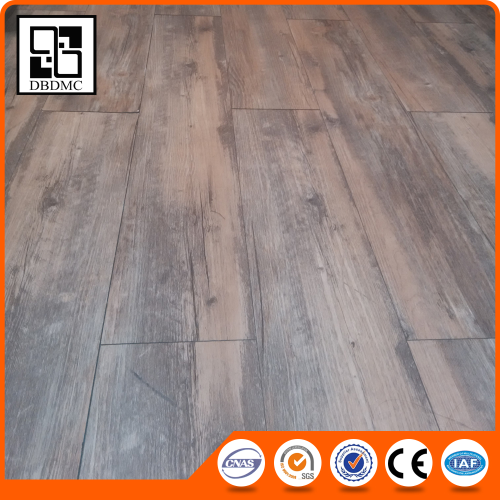 "6""x36"" Traffic allure master waterproof eir ash wood click system vinyl plank flooring/ interlocking vinyl planks"