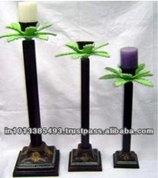 Candle Stand Coconut Tree