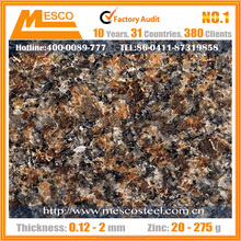 Natural colorful stone grain coated and durable Al-Zn base plate Material Stone coated metal roofing tiles