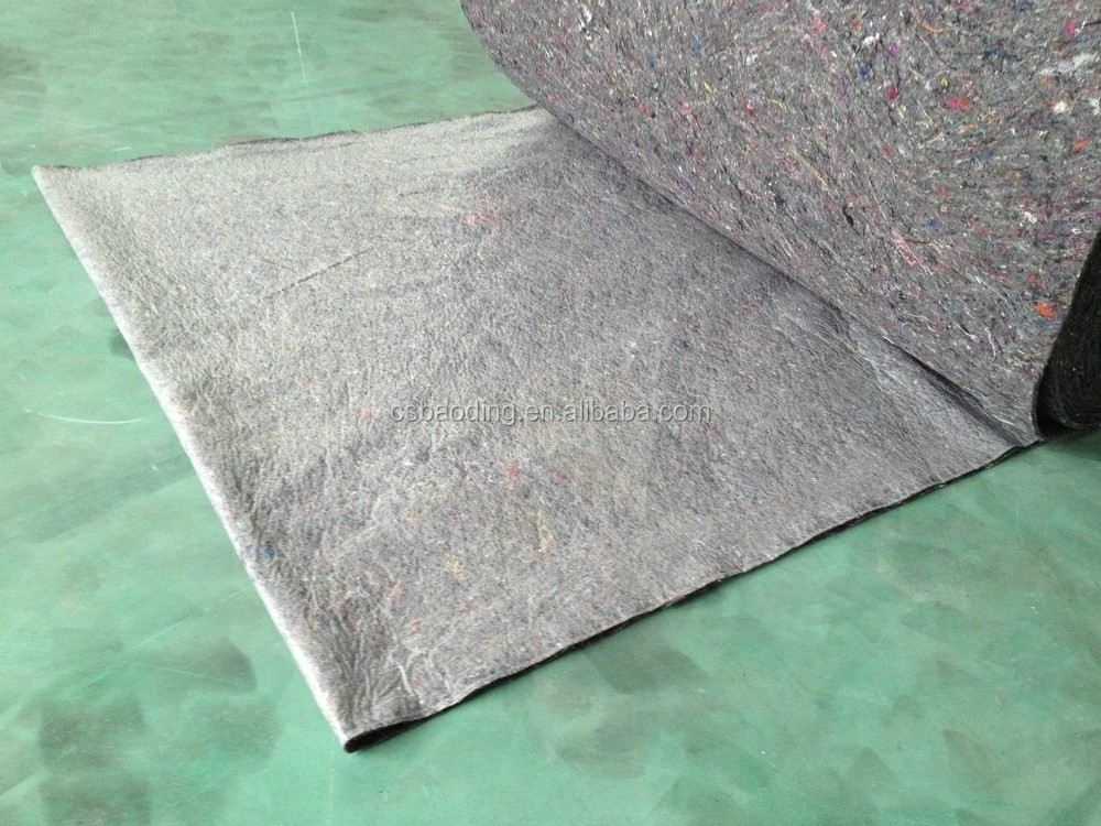 needle punched painter felt carpet in nonwoven fabric