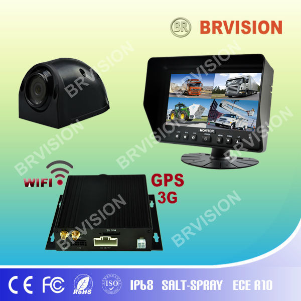 For School Bus! rearview mirror car monitor with 7 tft lcd