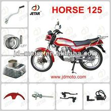 HORSE 125 motorcycle parts for KEEWAY