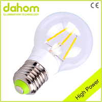 Best Price Glass Clear Led Globe Bulb,4W Edison Light Bulb,e27 Dimmable Filament Led Bulb