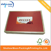 hot sale red date packaging paper box