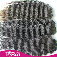 Silver hair extensions mongolian kinky curly hair weave