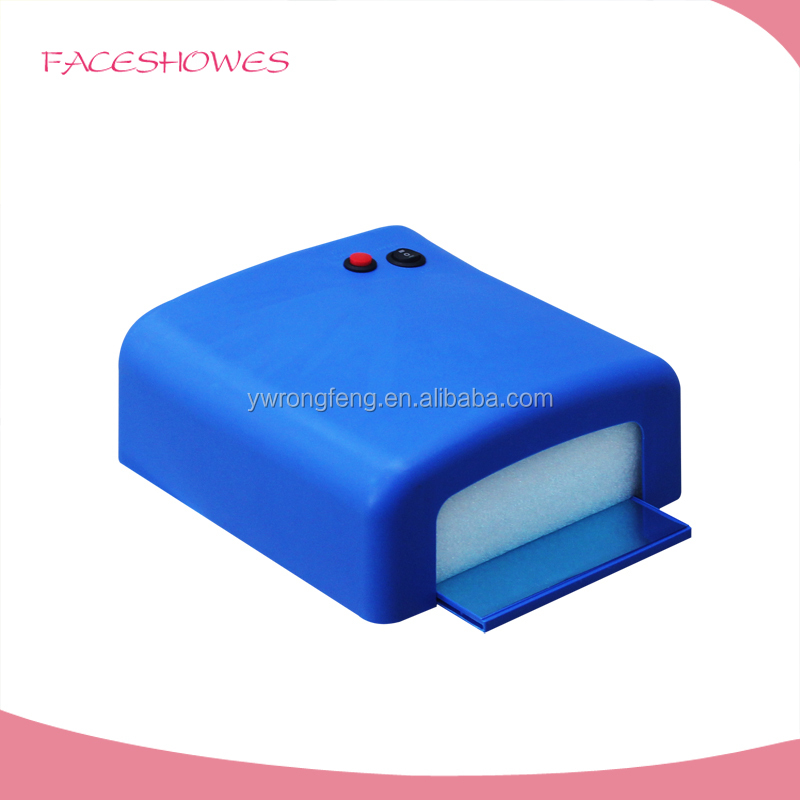 Cheap Price Faceshowes private brand wire nail making machine 36w uv nail lamp