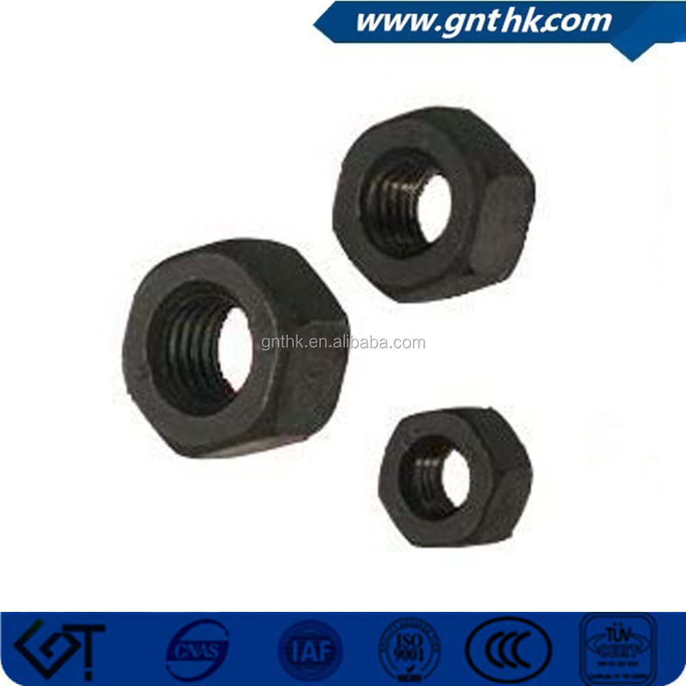 carbon steel heavy A194 2H hex nut m8 din934