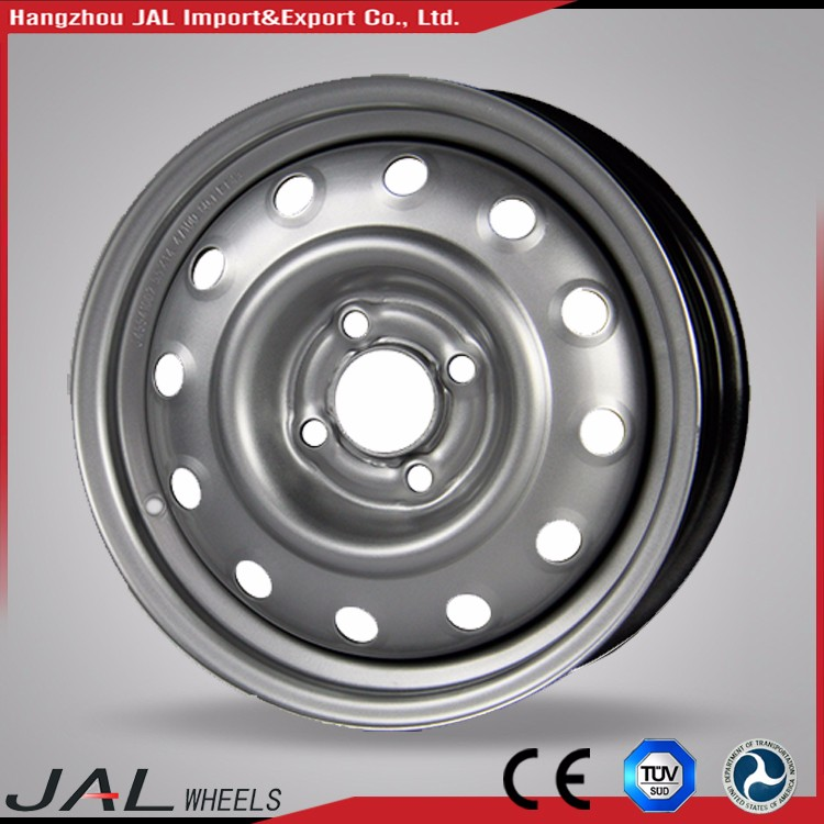 Factory Supply High Precision Widely Used Steel Silver Road Wheel Rim