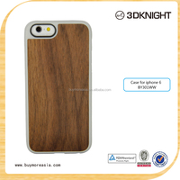 Handmade thinnest wood cellphone case , walnut Wood skin/ TPU Phone Case For Apple Iphone 6