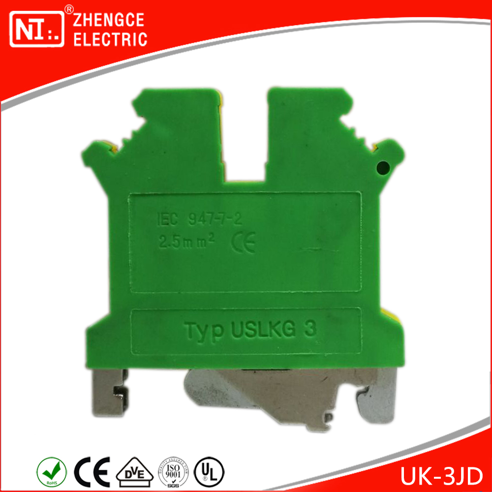 USLKG3 Ground / Board / Block Terminals For Industrial Control