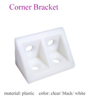 various types cabinet plastic angle code corner connector for furniture