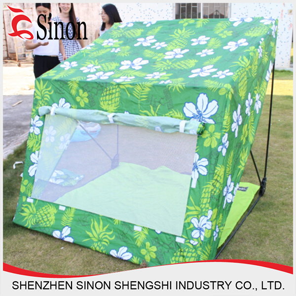 Outdoor Awning Sun Beach Tent 3-4 People Waterproof Tent