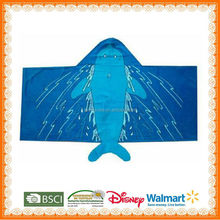 dolphin 150 cm kid hooded beach towels