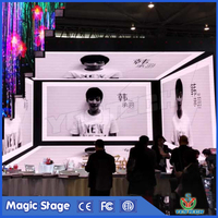 500*500 cabinet HD indoor led display p3 rental