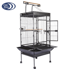 25.5kg hamer tone black Steel iron african grey the large parrot cage