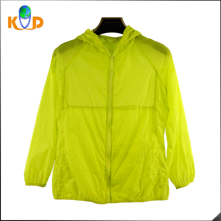 High quality sun protective clothing dri fit lightweight women jacket