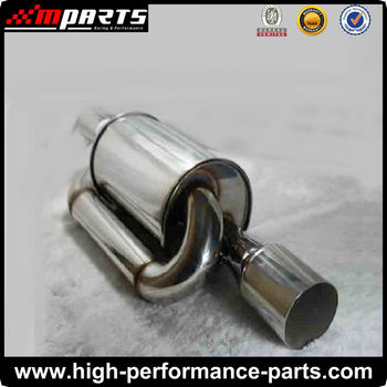 Customized Stainless Steel Universal Car Exhaust Muffler