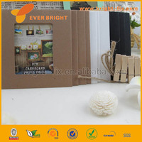 2014 China Supplier paper picture frame/child handmade drawing paper photo frame
