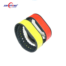 2017 UHF Long Range RFID Silicone Sport Wristband For Event 1~2M
