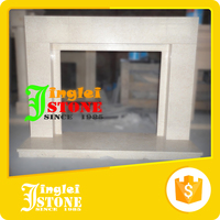According To Customer Needs Fireproof Material Fireplace Mantels