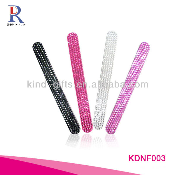 Most Fashion Rhinestone Mini Match Book Nail File